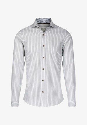 LEO SLIM FIT - Skjorte - green stripes - 161