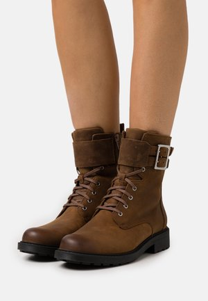 ORINOCO LACE - Lace-up ankle boots - brown