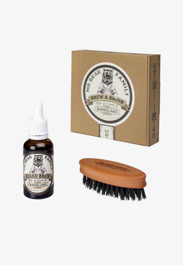 BREW & BRUSH - Scheerset - woodland