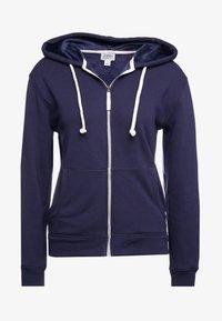 J.CREW - LINED HOODIE - Zip-up hoodie - navy - 3
