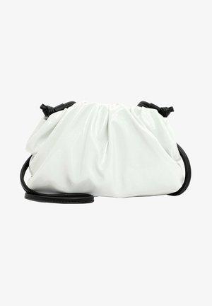 Across body bag - white-lack