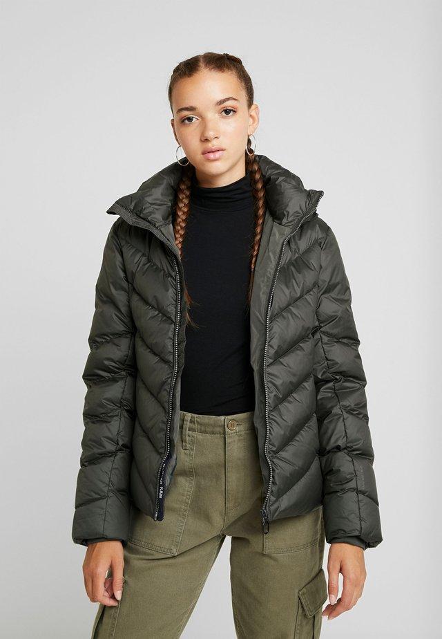 WHISTLER SLIM - Down jacket - asfalt