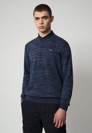 DUEVILLE CREW - Stickad tröja - blu marine