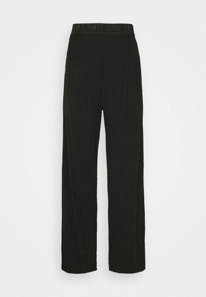 CARISI PANTS - Trousers - black