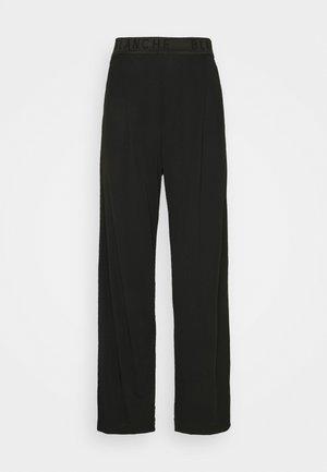 CARISI PANTS - Kalhoty - black