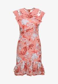 Three Floor - EXCLUSIVE DRESS - Vestido de cóctel - red/multi-coloured - 6