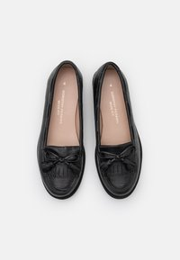 Dorothy Perkins Wide Fit - WIDE FIT LEXY TASSLE LOAFER - Mocasines - black - 5