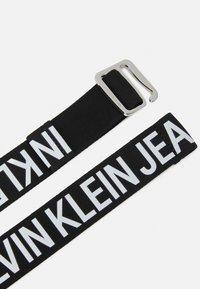 Calvin Klein Jeans - SLIDER TAPE BELT - Vyö - black - 1