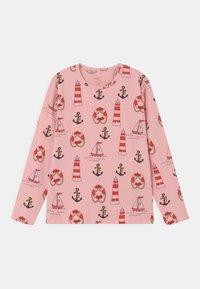 Mini Rodini - LIGHTHOUSE TEE UNISEX - Langarmshirt - pink - 0