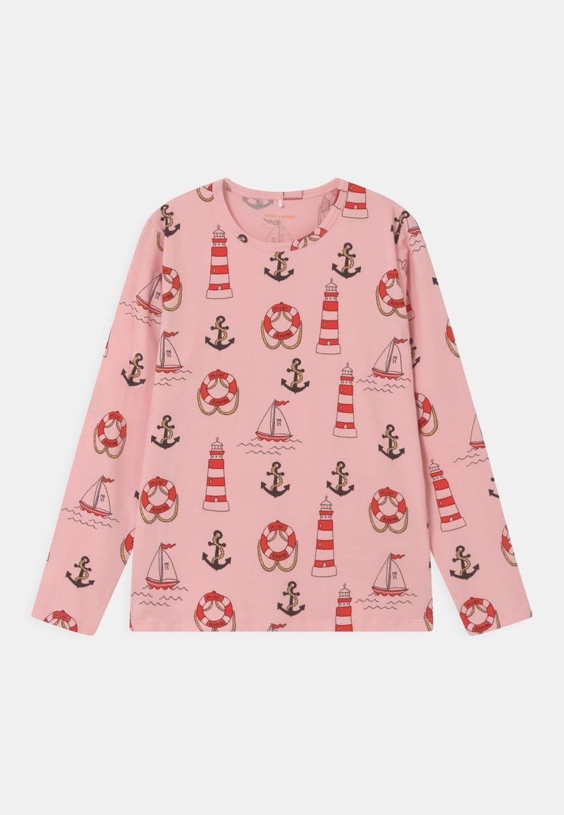 Mini Rodini - LIGHTHOUSE TEE UNISEX - Langarmshirt - pink