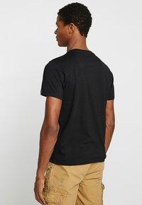 Schott - LOGO 2 PACK - Print T-shirt - camo/black - 2