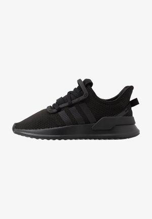 U_PATH RUN - Tenisky - core black/footwear white