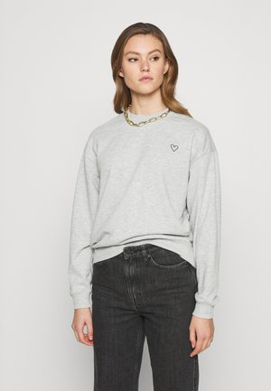 Sweatshirt - grey melange