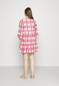 Colourful Rebel - INDY BRODERIE ANGLAISE BOHO DRESS - Day dress - white - 2