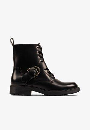 ORINOCO  - Cowboy/biker ankle boot - zwart leer