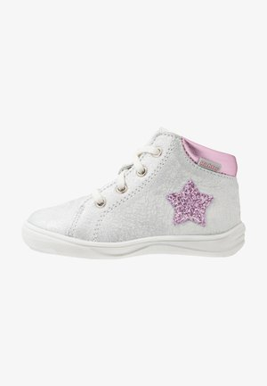 Casual lace-ups - silver/candy