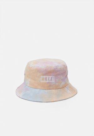 BUCKET HAT UNISEX - Klobouk - pink/orange/white