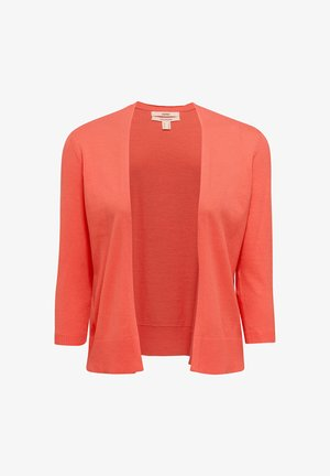 OFFENER - Cardigan - coral