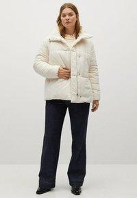 Violeta by Mango - NELA - Winter jacket - ecru - 1