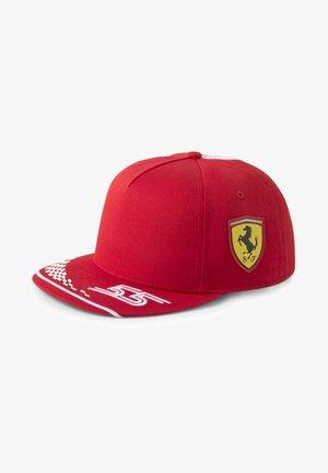 Cap - rosso corsa
