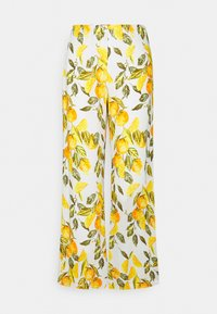 Never Fully Dressed - GROVE FREYA TROUSER - Trousers - white/yellow - 3
