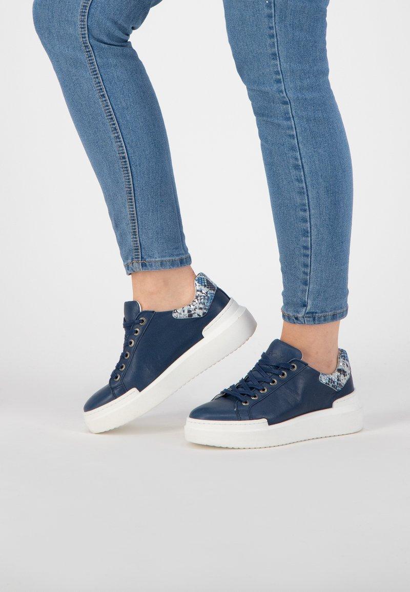 NoGRZ - J JAVARRA - Sneakers laag - blue