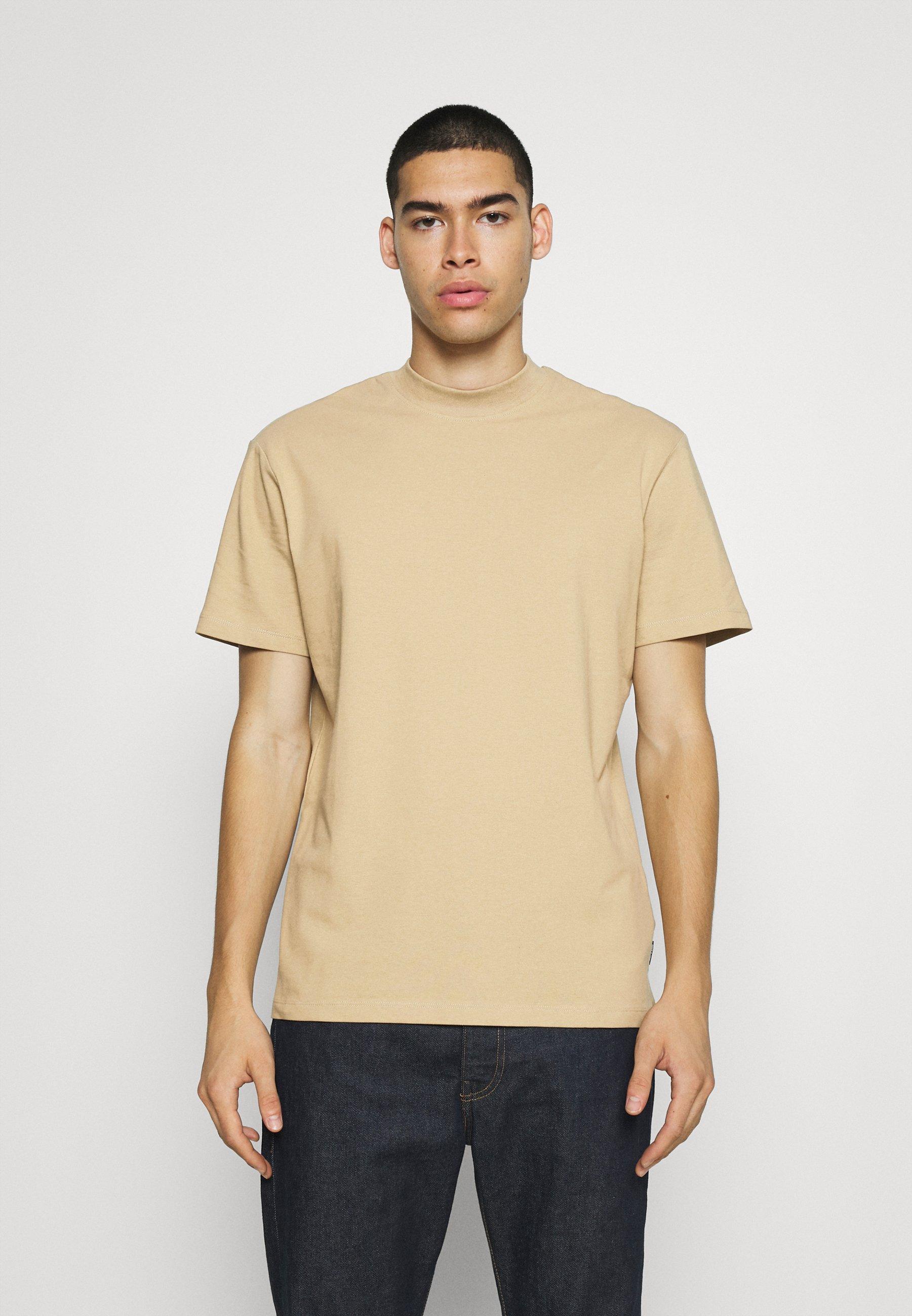 Men ONSVILMOS LIFE MOCK NECK TEE - Basic T-shirt