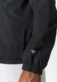 Fanatics - NFL OAKLAND RAIDERS ICONIC BACK TO BASICS MIDWEIGHT JACKET - Club wear - black - 4