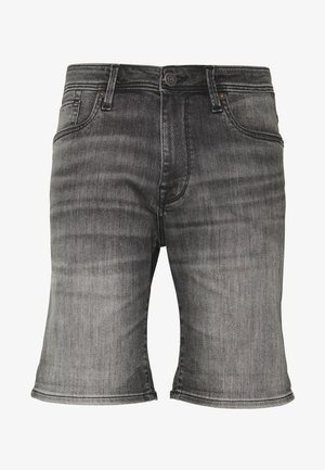 SLHALEX - Denim shorts - grey
