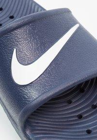 Nike Sportswear - KAWA SHOWER - Badsandaler - midnight navy/white - 5