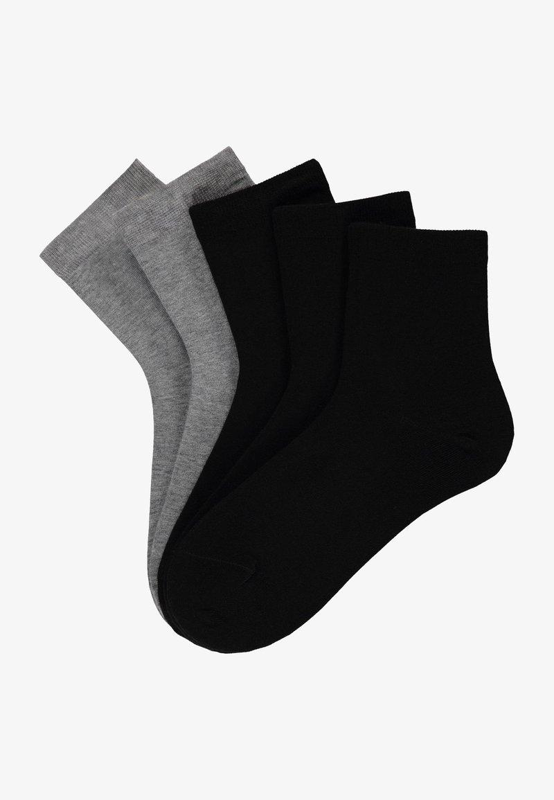 Tezenis - 5 PACK - Socks - nero/grigio mel
