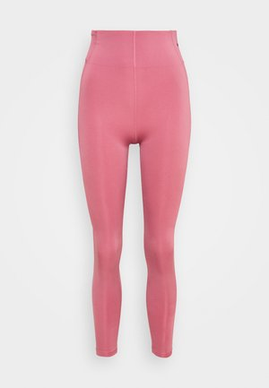 SCULPT - Leggings - desert berry/black