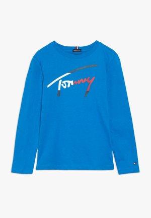 ESSENTIAL SCRIPT  - Pitkähihainen paita - blue