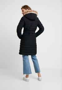 Abercrombie & Fitch - LONG PARKA - Down coat - black - 2