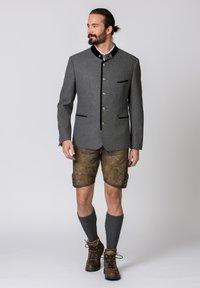 Stockerpoint - QUINTUS - Blazer jacket - stone-night blue - 1