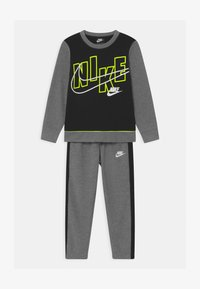 Nike Sportswear - COLOR BLOCK CREW SET - Trainingsanzug - carbon heather - 0