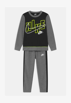 COLOR BLOCK CREW SET - Tracksuit - carbon heather