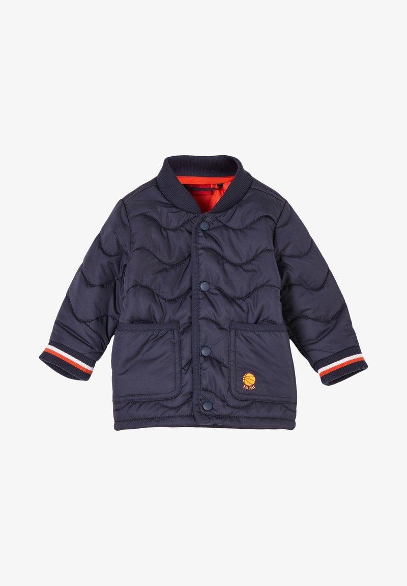 s.Oliver - MIT BÜNDCHEN - Light jacket - navy