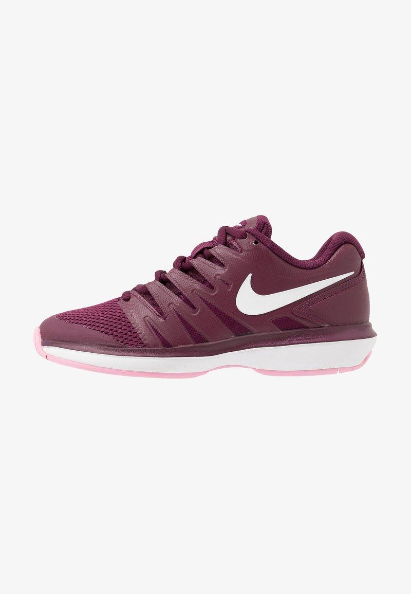 Nike Performance - AIR ZOOM PRESTIGE - Multicourt tennis shoes - bordeaux/white/pink rise