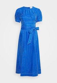 EYES ON YOU MIDI DRESS - Denní šaty - cerulean