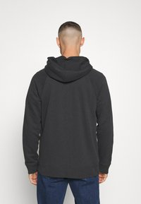 Abercrombie & Fitch - ICON FULLZIP - Jersey con capucha - anthrazit - 2