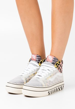 SUPER COMFYCUSH SK8 SKOOL - Zapatillas altas - multicolor/antique
