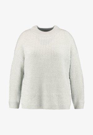 CREW NECK BOXY JUMPER - Jersey de punto - light grey