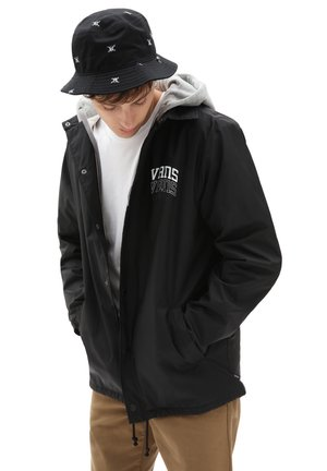 MN RILEY - Light jacket - black new varsity