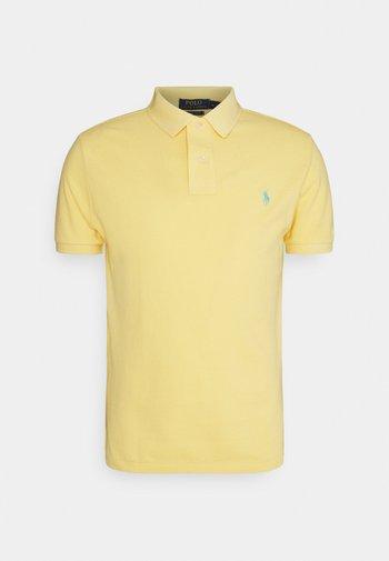 CUSTOM SLIM FIT MESH POLO - Polo - empire yellow