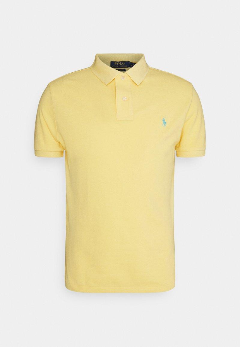 Polo Ralph Lauren - CUSTOM SLIM FIT MESH POLO - Polotričko - empire yellow