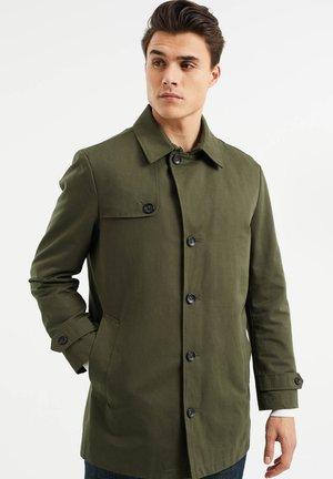 MET UITRITSBAAR BINNENSTUK - Short coat - army green