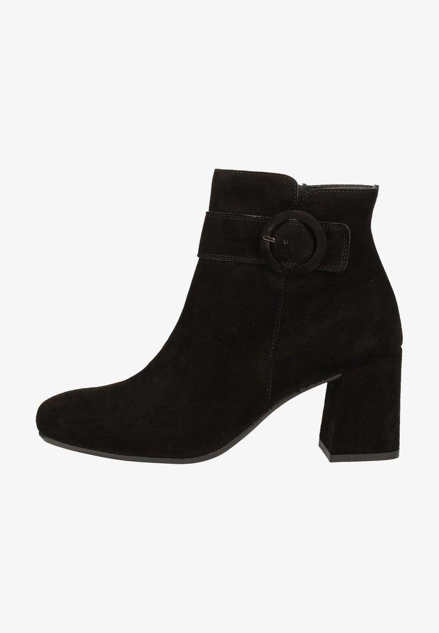 Ankelstøvler - schwarz 027