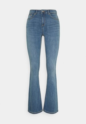 BYLOLA BYLUNI  - Jeans a zampa - light blue