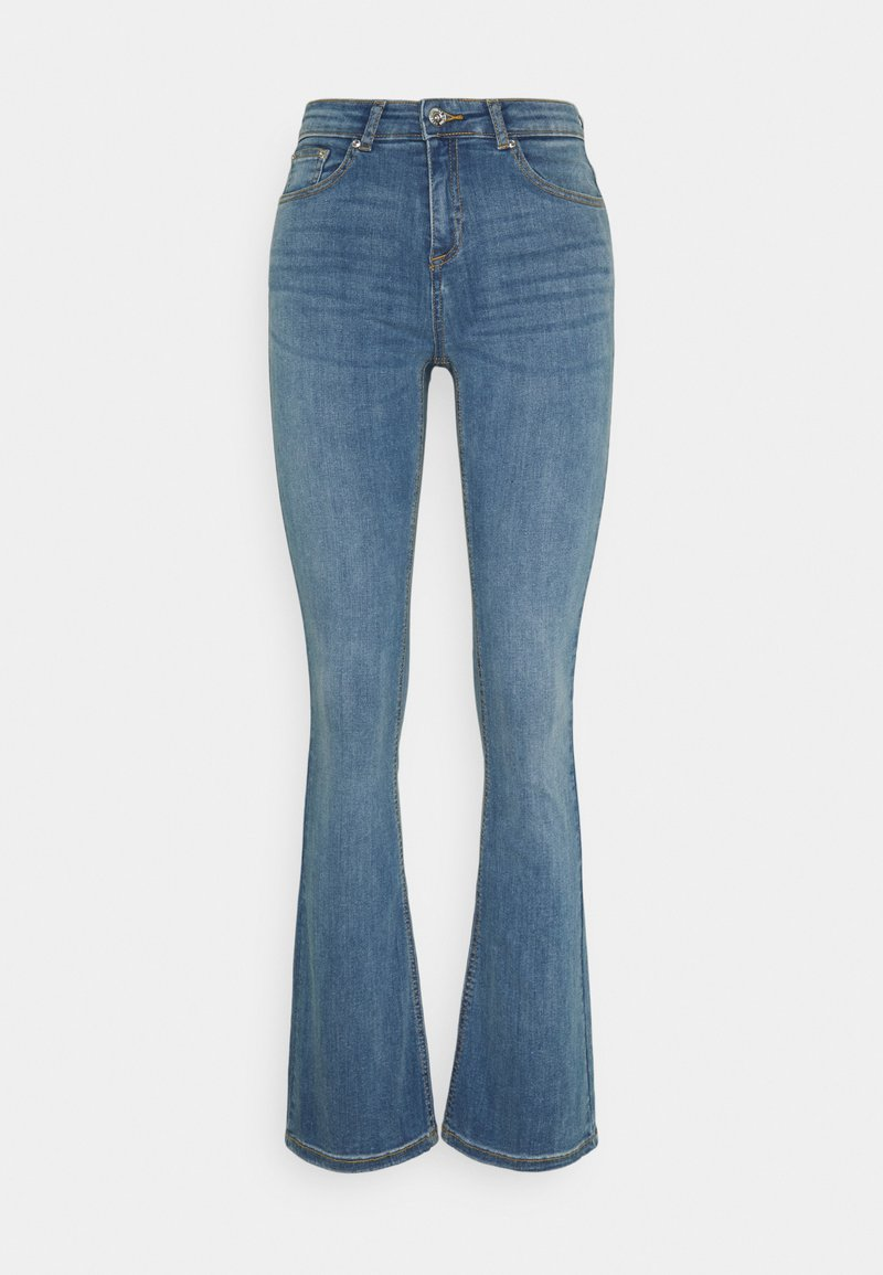 b.young - BYLOLA BYLUNI  - Flared Jeans - light blue